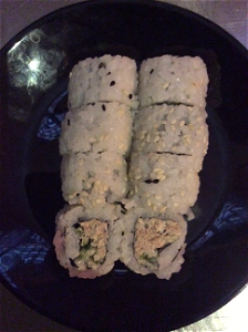Foto Tuna salad roll